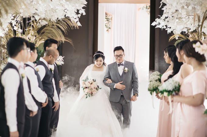 Indra & Yoan Wedding at Hilton by PRIDE Organizer - 018