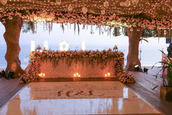 Mesmerizing Cave Wedding at Ocean Bali by Silverdust Decoration - 025