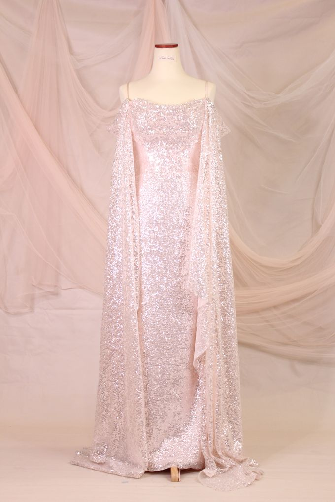 Silver Pink sister dress by iLook ( Makeup & Couture ) - 001