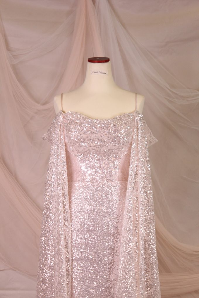 Silver Pink sister dress by iLook ( Makeup & Couture ) - 002