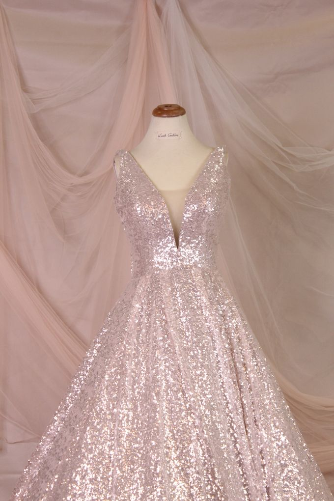Silver Pink sister dress by iLook ( Makeup & Couture ) - 004