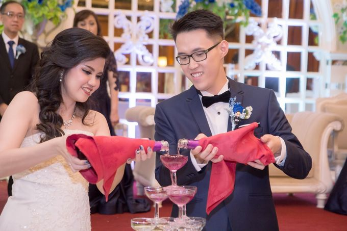 Weddding day of Andika & Devi at Angke Restaurant Kelapa Gading by Angke Restaurant & Ballroom Jakarta - 005