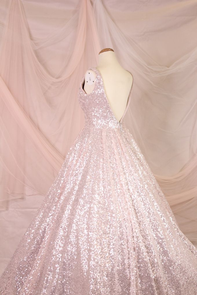 Silver Pink sister dress by iLook ( Makeup & Couture ) - 005