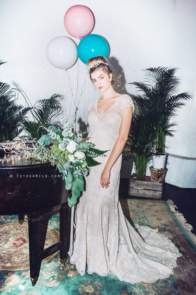 Styled Shoot for Norfolk Brides by Fancy Bowtique Bridal Couture - 005