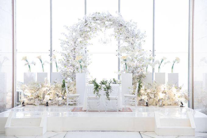 Veby & Banial Wedding Decoration by Valentine Wedding Decoration - 003