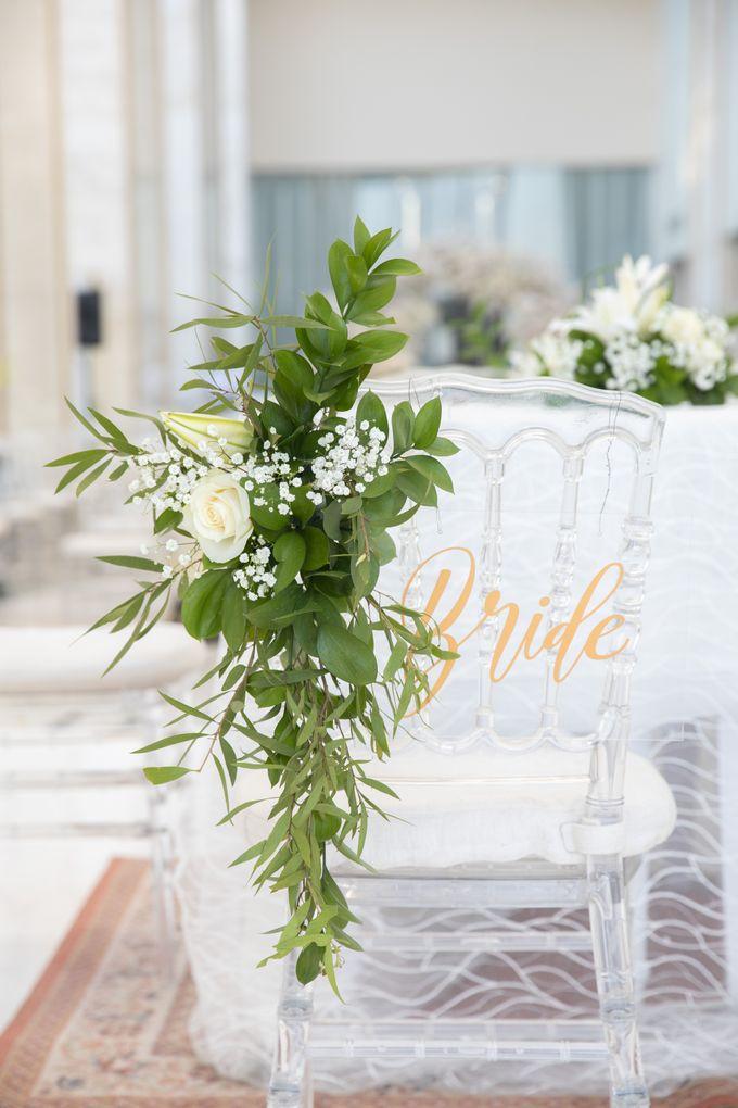 Veby & Banial Wedding Decoration by Valentine Wedding Decoration - 009