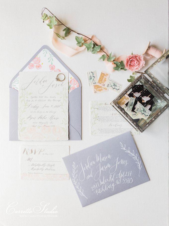 Jordan & Jason Wedding - Piper Palm House by Meilifluous Calligraphy & Design - 001