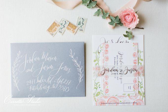 Jordan & Jason Wedding - Piper Palm House by Meilifluous Calligraphy & Design - 002