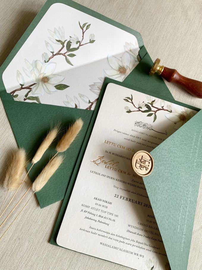 Magnolia Garden by Trouvaille Invitation - 001