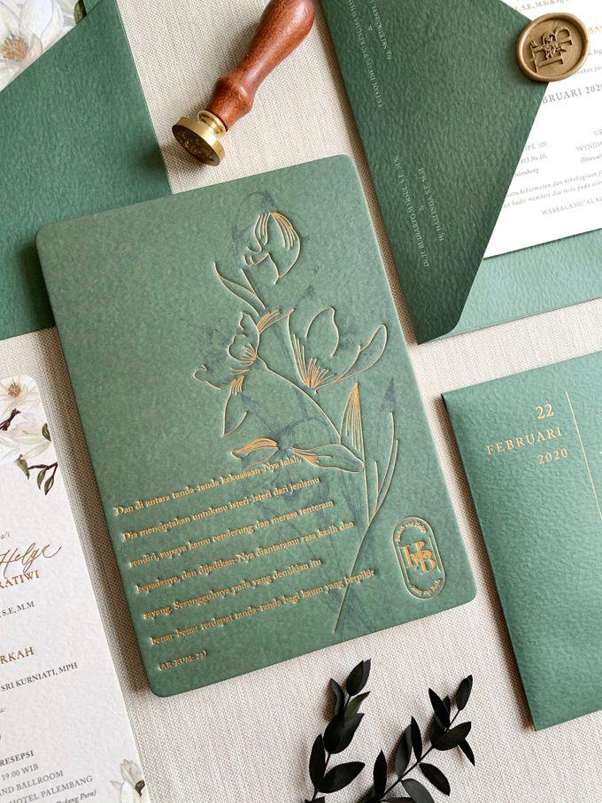 Magnolia Garden by Trouvaille Invitation - 002