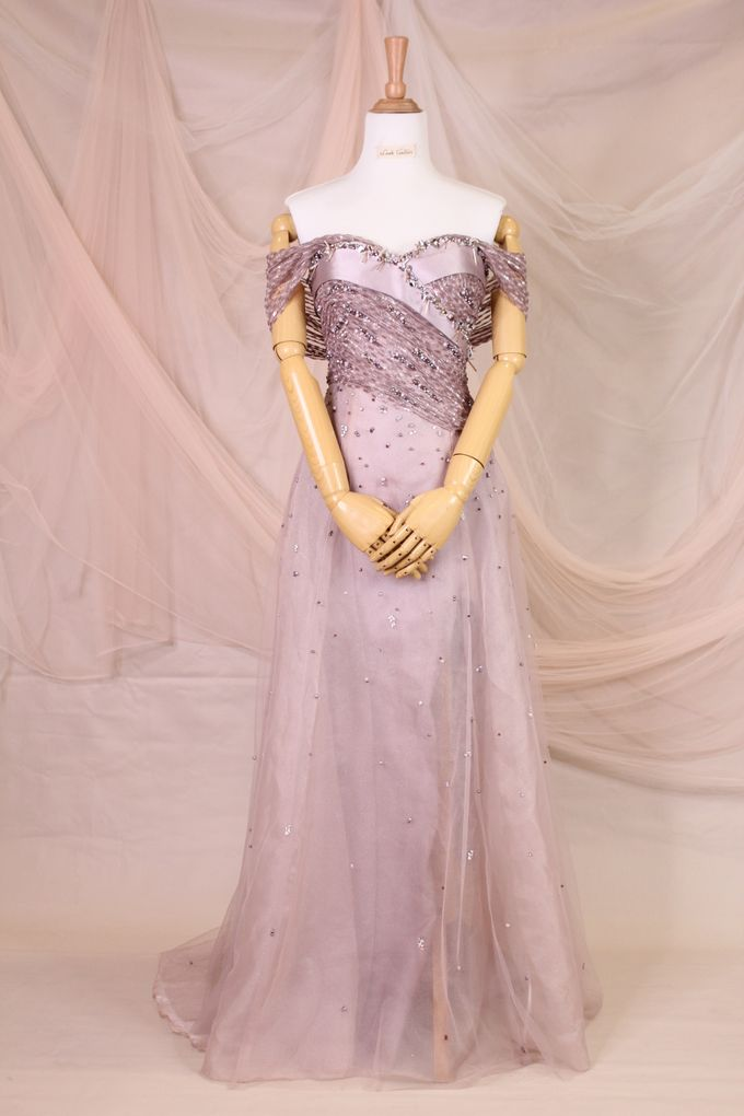 Lavender sister Dress by iLook ( Makeup & Couture ) - 007