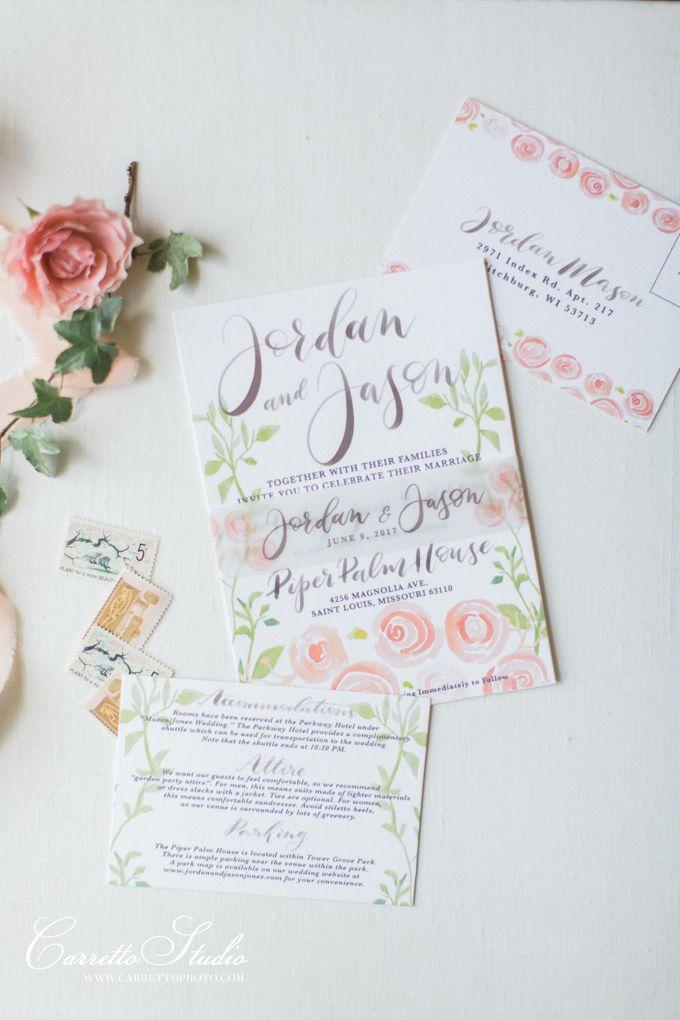 Jordan & Jason Wedding - Piper Palm House by Meilifluous Calligraphy & Design - 010