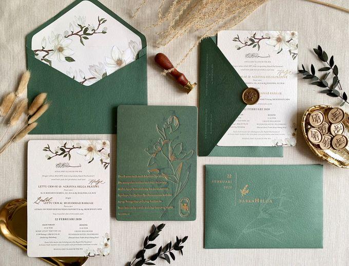 Magnolia Garden by Trouvaille Invitation - 003
