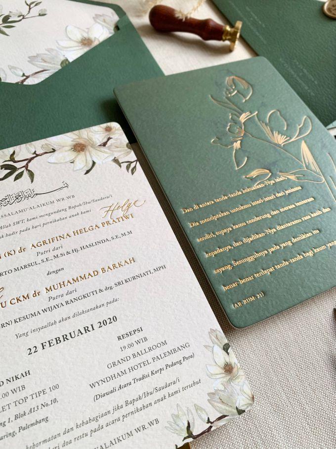 Magnolia Garden by Trouvaille Invitation - 004