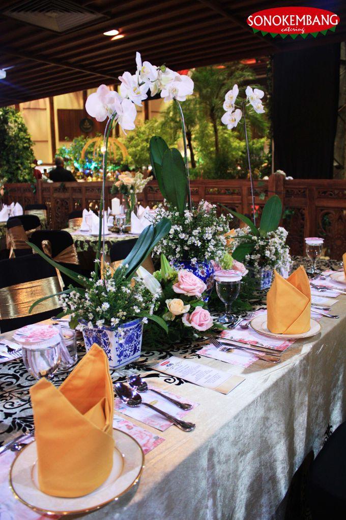 WEDDING OF GEA & ADHYA by Sonokembang Catering - 005