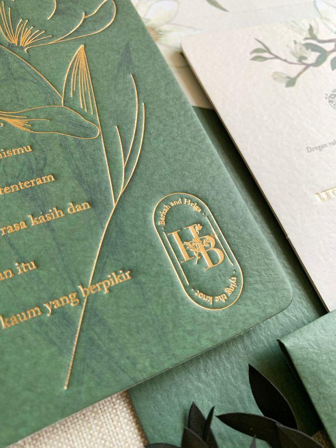 Magnolia Garden by Trouvaille Invitation - 005