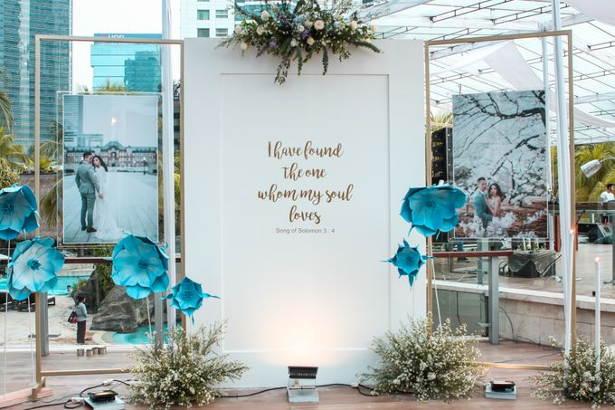 Robert and Michelle Wedding by Orchid Florist and Decoration - 010