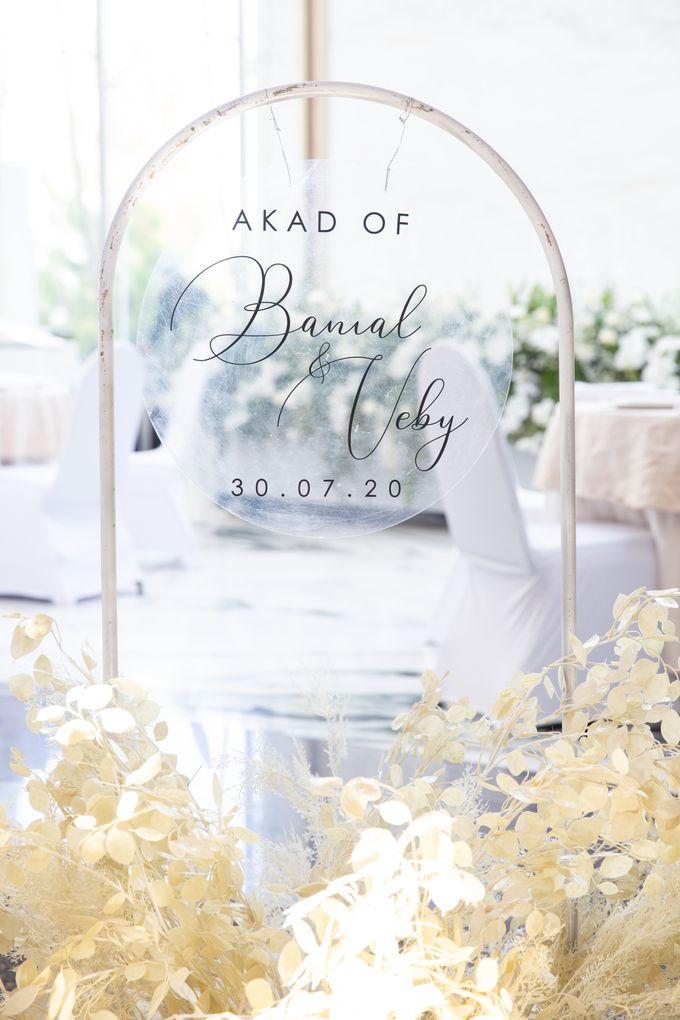 Veby & Banial Wedding Decoration by Valentine Wedding Decoration - 035