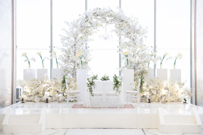 Veby & Banial Wedding Decoration by Valentine Wedding Decoration - 038