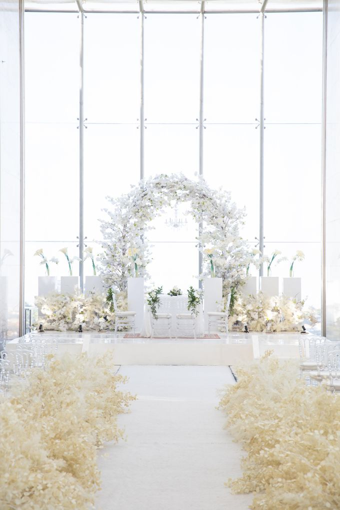 Veby & Banial Wedding Decoration by Valentine Wedding Decoration - 042