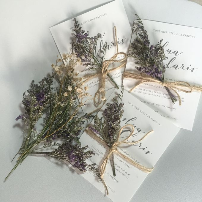 Minimalist Invitation Cards by mylin design & co. - 004