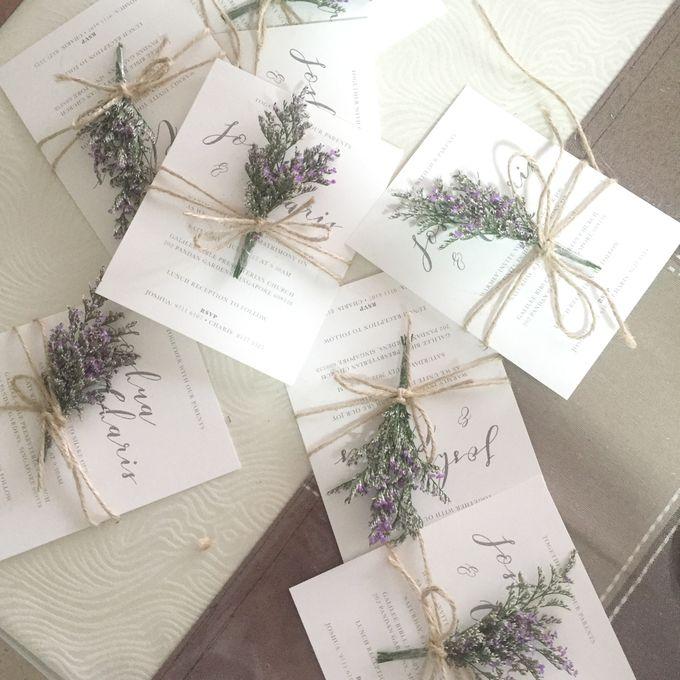 Minimalist Invitation Cards by mylin design & co. - 003
