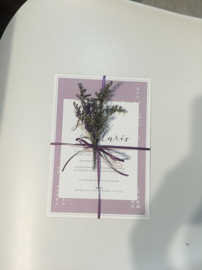 Minimalist Invitation Cards by mylin design & co. - 005