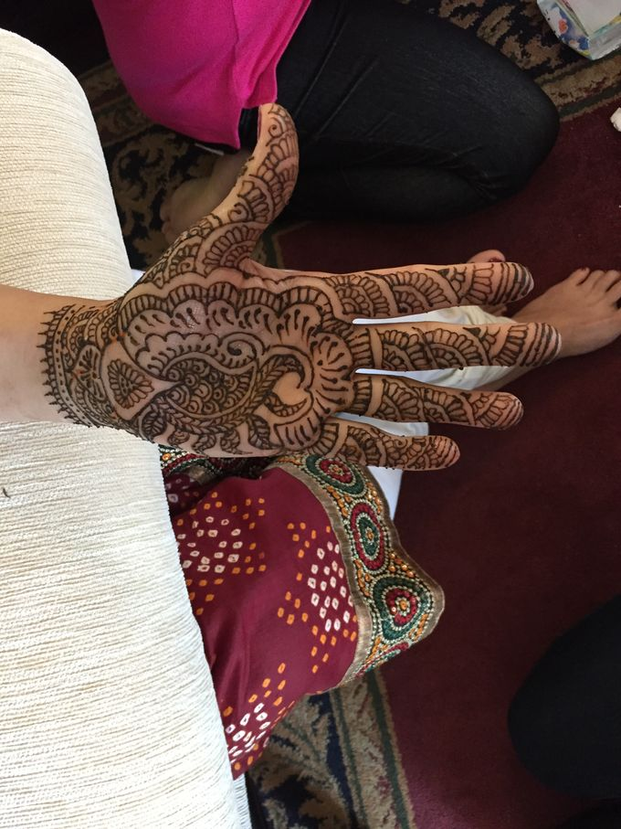 Henna for Indian Wedding by Nirvana Henna by Shinta - 006