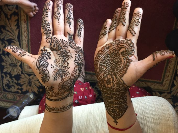 Henna for Indian Wedding by Nirvana Henna by Shinta - 002