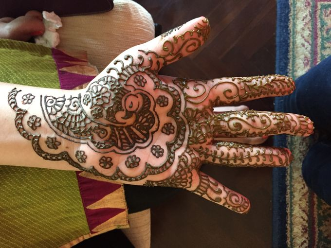 Henna for Indian Wedding by Nirvana Henna by Shinta - 001