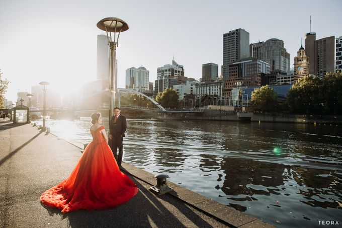 Henry & Milla Melbourne Prewedding by attelia bridal - 012