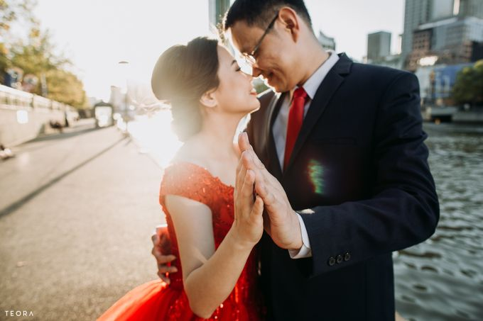 Henry & Milla Melbourne Prewedding by attelia bridal - 013