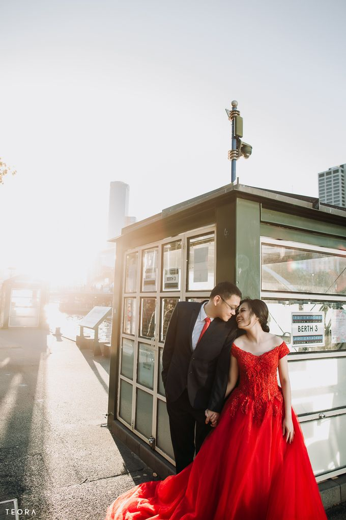 Henry & Milla Melbourne Prewedding by attelia bridal - 014