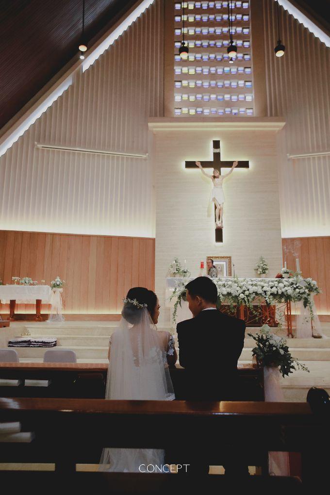 Laura dan Rusman Wedding by Ivone sulistia - 007