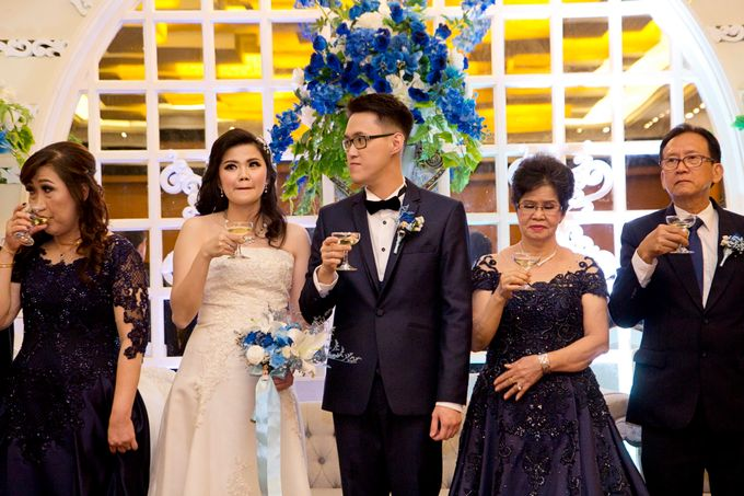 Weddding day of Andika & Devi at Angke Restaurant Kelapa Gading by Angke Restaurant & Ballroom Jakarta - 006