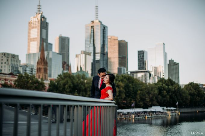 Henry & Milla Melbourne Prewedding by attelia bridal - 015
