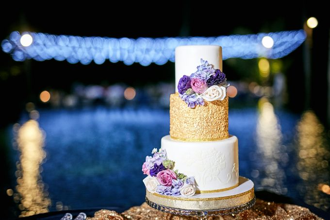 Purple Lilac  Navy and Gold wedding by Samui Weddings and Events - 006