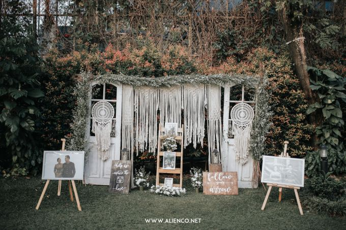 Wedding of Ines & Rizki by Muthia Catering - 017