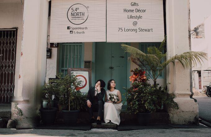 Penang prewedding street photography by Amelia Soo photography - 035