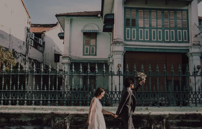 Penang prewedding street photography by Amelia Soo photography - 036