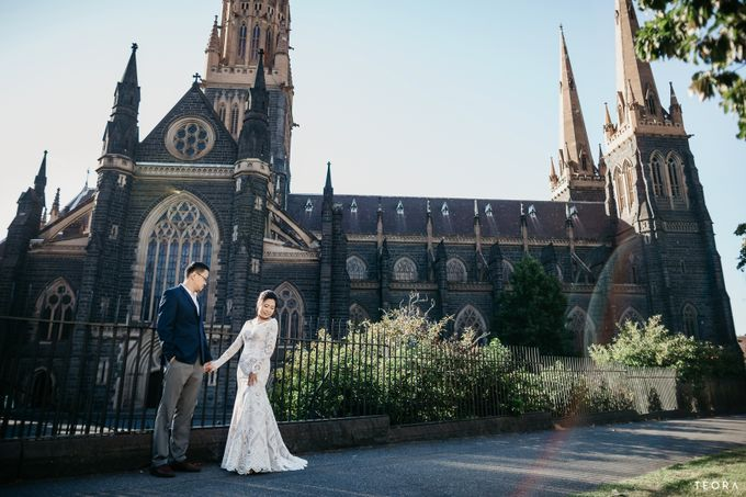 Henry & Milla Melbourne Prewedding by attelia bridal - 017