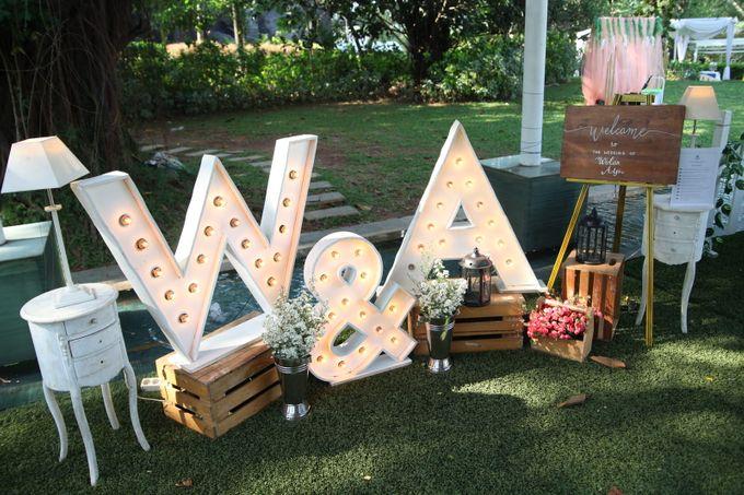 WULAN & ADJI by Raffles Hills Cibubur - On Green Garden Venue - 001