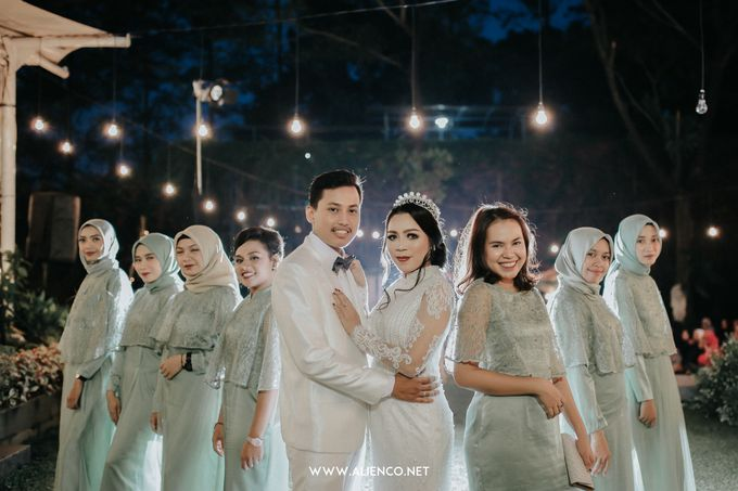 Wedding of Ines & Rizki by Muthia Catering - 028