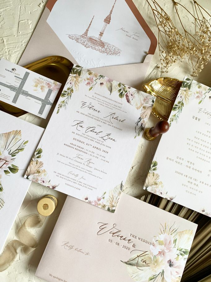 Magical Garden by Trouvaille Invitation - 001