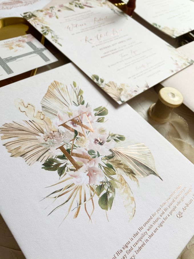 Magical Garden by Trouvaille Invitation - 002