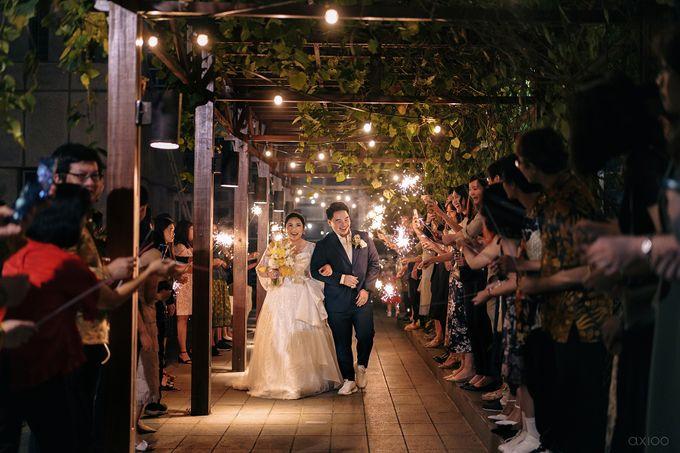 Wedding Reception - Calvin & Herna @FinancialClub, Jakarta by Celra Official - 002
