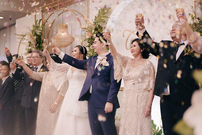 Wedding Reception - Calvin & Herna @FinancialClub, Jakarta by Celra Official - 003