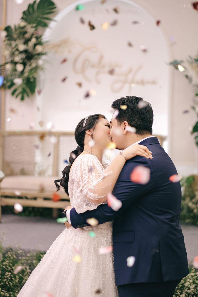 Wedding Reception - Calvin & Herna @FinancialClub, Jakarta by Celra Official - 010