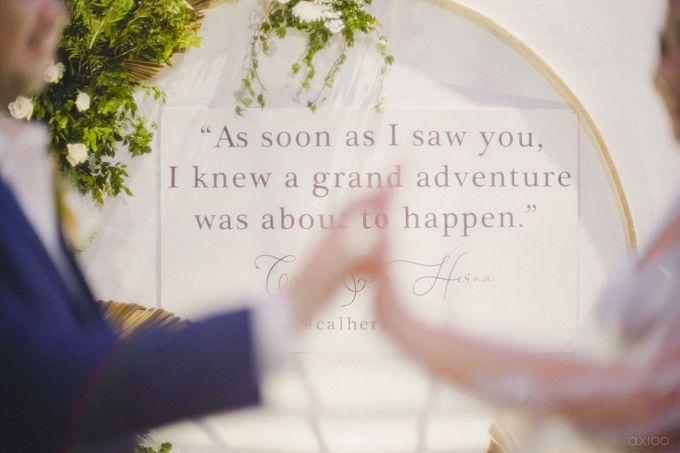 Wedding Reception - Calvin & Herna by Celra Official - 015