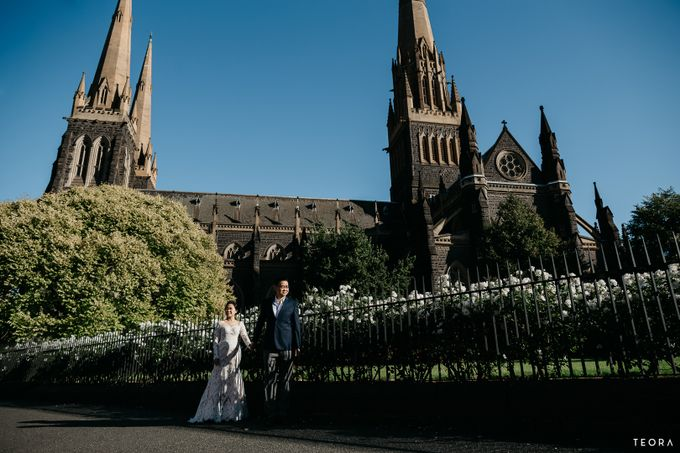 Henry & Milla Melbourne Prewedding by attelia bridal - 018